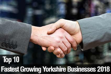 Top 10 Yorkshire's Fastest Growing Businesses 2018