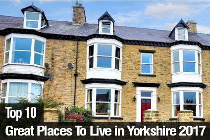 Top 10 Great Places to Live in Yorkshire 2017