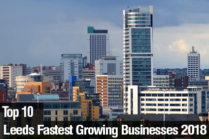 Top 10 Leeds Fastest Growing Businesses 2018