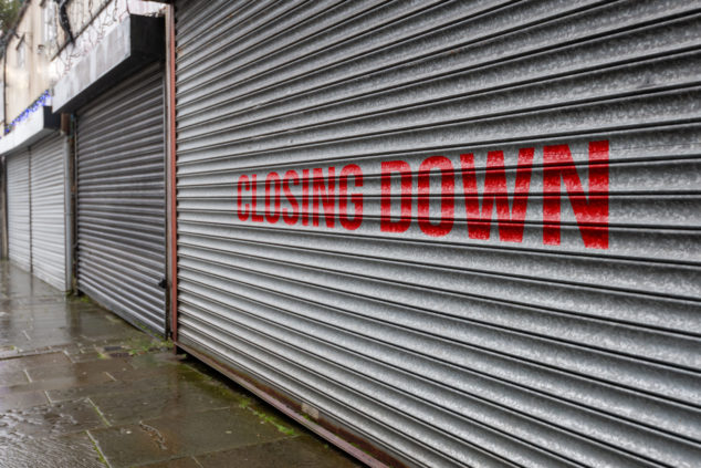 Closing down: 128,000 small retailers have written to Rishi Sunak demanding business rates reform